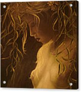 Willow Girl Acrylic Print by John Silver