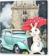 Willy The Wabbit Urrr I Mean Rabbit Acrylic Print
