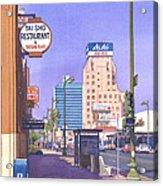 Wilshire Blvd At Mansfield Acrylic Print