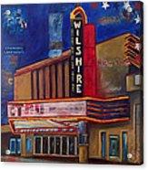 Wilshire Theater Acrylic Print