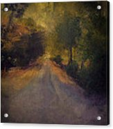 Wilsonville Road Acrylic Print by W i L L Alexander