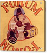 Wilt Chamberlain Vs. Kareem Abdul Jabbar Acrylic Print by Retro Images Archive