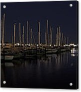 Winchester Bay Marina - Oregon Coast Acrylic Print by Daniel Hagerman