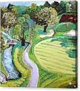 Winchester Country Club IIi Acrylic Print