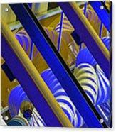 Wind Abstract No2 Horz Acrylic Print