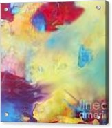 Wind Abstract Painting Acrylic Print