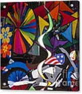 Wind Art Acrylic Print