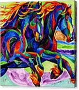Wind Dancers Acrylic Print
