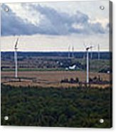 Wind Energy Panorama Acrylic Print