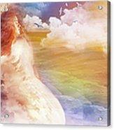 Wind Of His Glory Acrylic Print by Jennifer Page