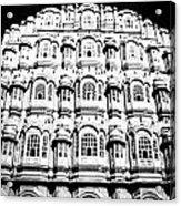 Wind Palace Jaipur Acrylic Print