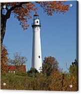 Wind Point Lighthouse 74 Acrylic Print