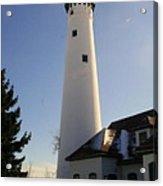 Wind Point Lighthouse Acrylic Print