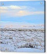 Wind Swept Plains Of Iceland Acrylic Print