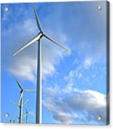 Wind Turbine Farm Acrylic Print