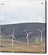 Wind Turbine Power Farm Acrylic Print