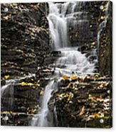 Winding Waterfall Acrylic Print by Christina Rollo