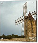 Windmill, France Acrylic Print