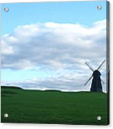 Windmill In Southern England Acrylic Print