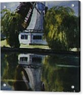 Windmill In The Willows Acrylic Print