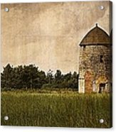 Windmill Acrylic Print by Lesley Rigg