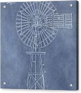 Windmill Patent Acrylic Print