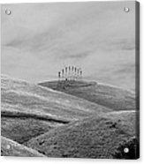Windmills On The Hill Acrylic Print