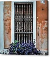 Window 53 Acrylic Print by Perry Webster
