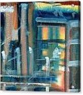 Window Abstract Acrylic Print