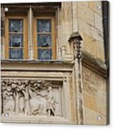 Window And Relief Palace Ducal Acrylic Print