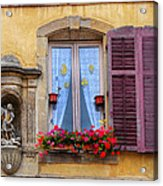 Window And Sculpture Acrylic Print