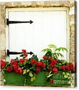 Window Box 2 Acrylic Print