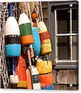 Rockport Buoy View Acrylic Print