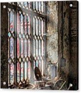 Window Decay Acrylic Print