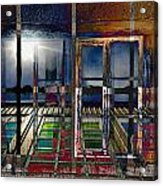 Window Dreaming Acrylic Print