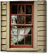 Window - Glimpse Into The Past Acrylic Print