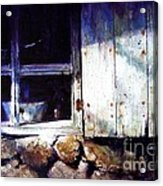 Window In A Cottage Acrylic Print
