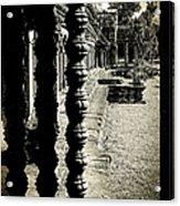 Window In Angkor Wat Acrylic Print