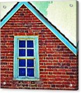 Window In Brick House Acrylic Print