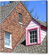 Window In Pink Acrylic Print