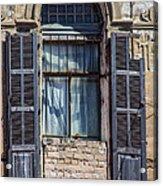 Window In Tel Aviv Acrylic Print