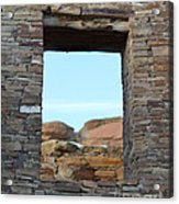Window In Time Acrylic Print