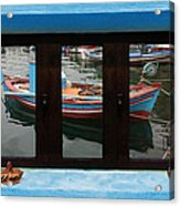 Window Into Greece 6 Acrylic Print
