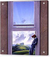 Window Of Dreams Acrylic Print by Jerry LoFaro