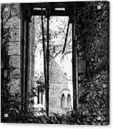 Window Of Haunted Abbey Acrylic Print