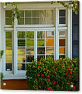 Window Of Many Colors Acrylic Print