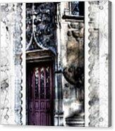 Window Of Renaissance Paris France Acrylic Print