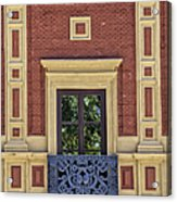Window Of Seville Acrylic Print