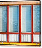 Window Of Soviet Building Acrylic Print