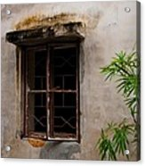 Window On Canvas Acrylic Print